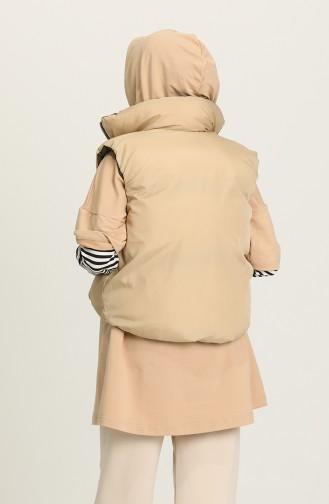 Khaki Waistcoats 10001-02