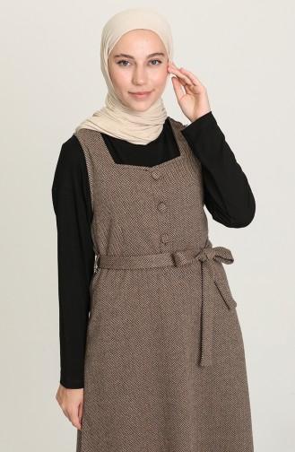 Nerz Hijap Kleider 7130-01