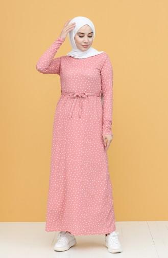 Pink İslamitische Jurk 1053-03