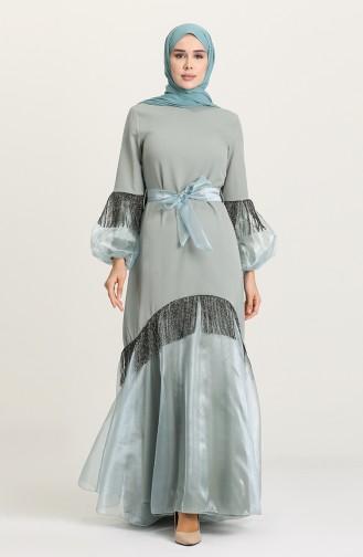 فستان أخضر 60120-05
