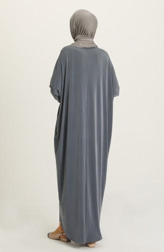 Anthrazit Hijap Kleider 2000-11