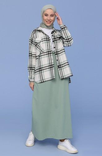 Green Almond Skirt 0152-17