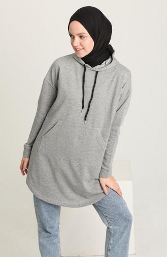 Smoke-Colored Sweatshirt 009053-05