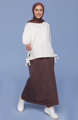 Brown Skirt 0152-11