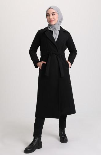 Belted Fleece Cap 8404-01 Black 8404-01