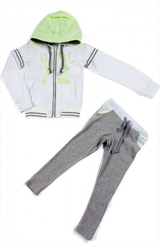 Gray Baby and Kids Sweatsuit 51K10005