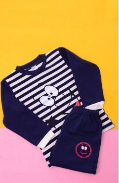 Sefamerve, Pijama Takımı 002-01 Lacivert