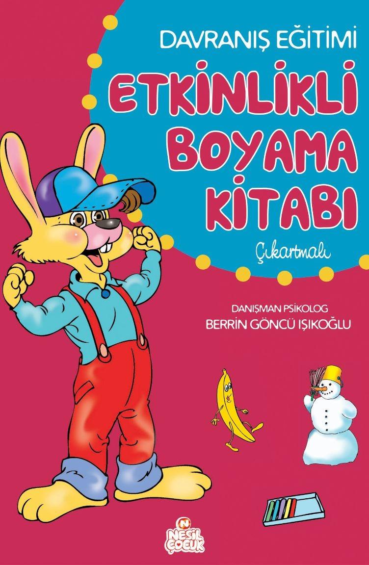 Etkinlikli Boyama Kitabi Davranis Egitim Cikart 697553 Sefamerve