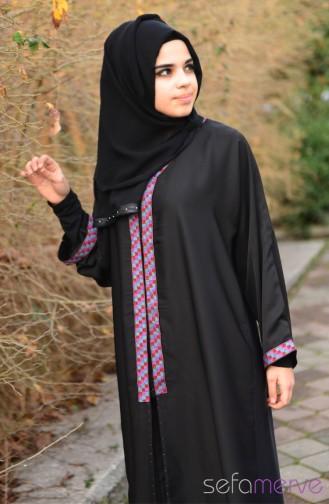 Berrince Dubai Abaya 20029-01 20029-01