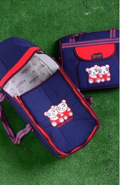 Sefamerve, Red-Navy Blue Bags for Kids GCL0034-05