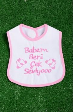 Sefamerve, Pink Baby Textile 0908B-02