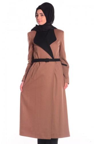 SUKRAN Flet Topcoat  35643-07 Camel Black 35643-07