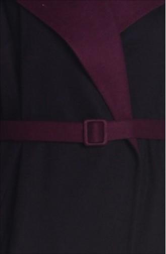 SUKRAN Flet Topcoat  35643-01 Black Plum 35643-01