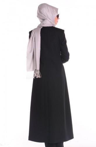 Black Topcoat 35652-02