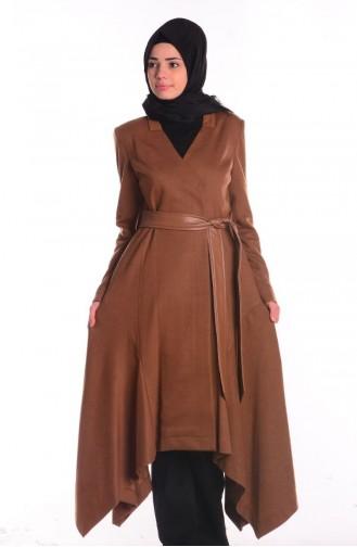 SUKRAN Flet Topcoat  35653-04 Camel 35653-04