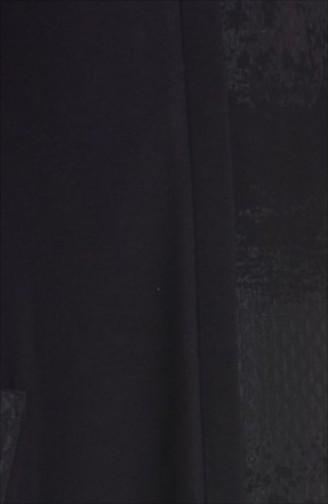 Şükran Cape aus Filz 35654-02 Schwarz Grün 35654-02