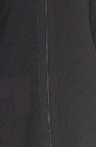 Şükran Pardesü Kap 35655-01 Siyah