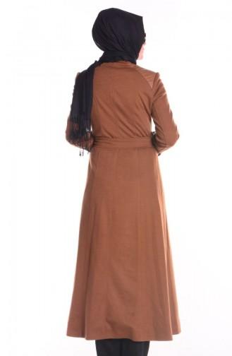 Şükran Pardessus Cape 35657-02 Camel 35657-02