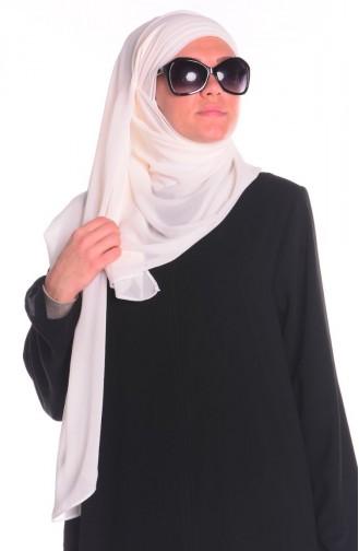 Cream Sjaal 0001-22