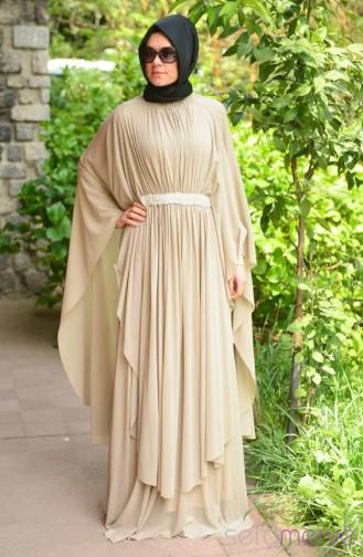 Sefamerve Stony Dress 40849-01 Beige 40849-01
