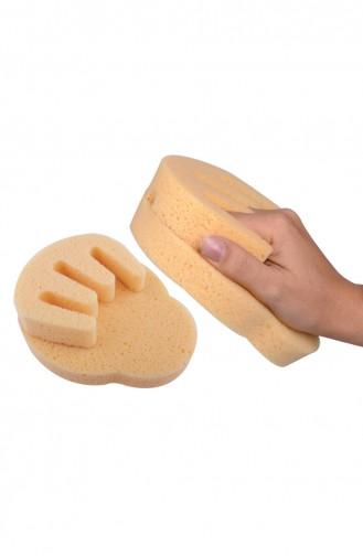 Baby Jem El Biçimli Banyo Süngeri 310379-01 Sarı