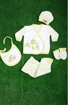 Sefamerve, Green Baby Bodysuit Set GCL1005-03