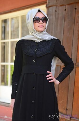 Black Abaya 2050-01
