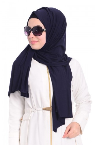 Navy Blue Shawl 07