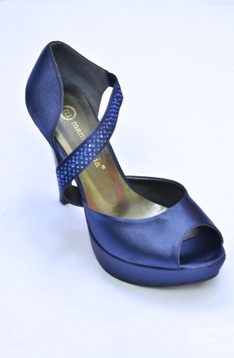 Mammamia Navy Blue Saten 097 12KA-3055-097