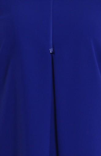 Cape a Boutons 35677-03 Bleu Roi 35677-03