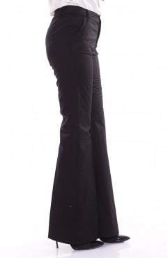 Sefamerve Likralı Pamuk Saten Pantolon 8814-01 Siyah