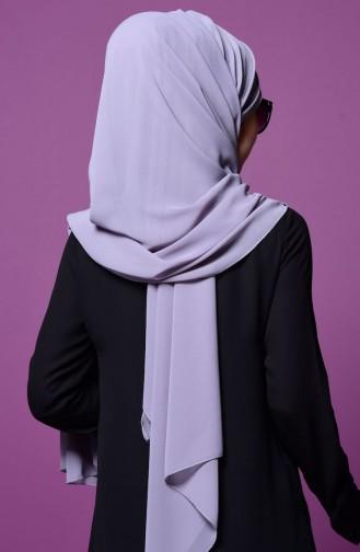 Bonnet Schal aus Chiffon 14 Grau 14