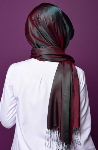 Emerald Sjaal met Drukknoop 2-15