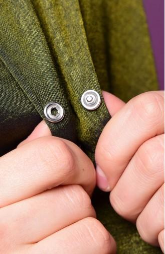 Khaki Umhänge mit Druckknopf 2-27