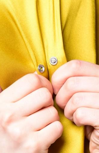 صفا ميرفي-شال لون  أصفر 1-10