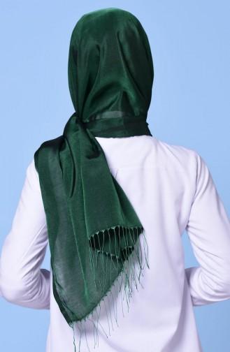 شالات أخضر زمردي 1-38