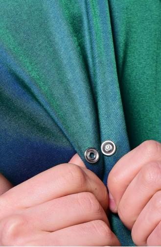 Emerald Sjaal met Drukknoop 1-41