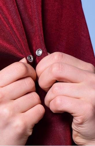 Rot Umhänge mit Druckknopf 2-41