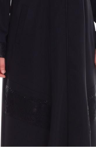 Black Abaya 35691-01