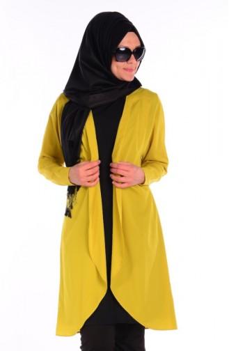 Tunique Islamique 0014-01 Vert Huile 0014-01