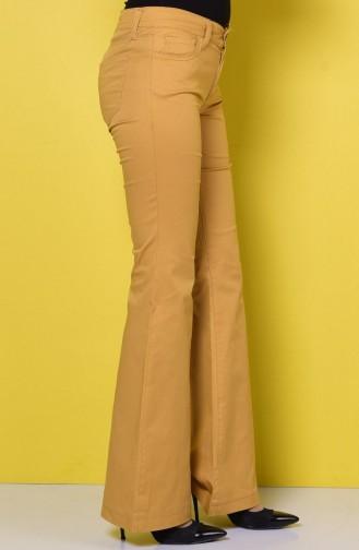 WB Spanish Leg Trousers 8868-09 Mustard 8868-09
