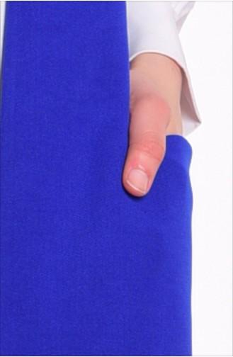 Saxon blue Gilet 1047-05