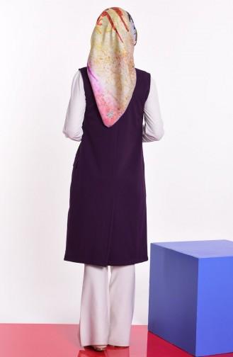 Purple Gilet 1047-07