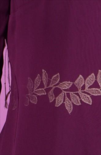 Robe Hijab 52221A-04 Plum 52221A-04