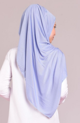 Sefamerve Sedef Schal aus Gekämmte Baeumwolle 27 Ice Blau 27