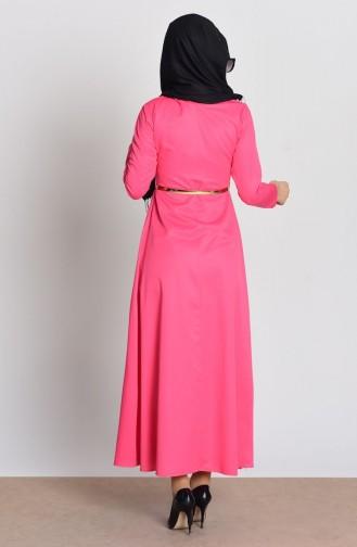فستان لون فوشي 2201-11