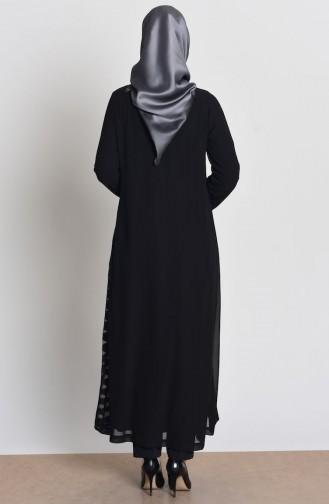 Black Abaya 35704-01