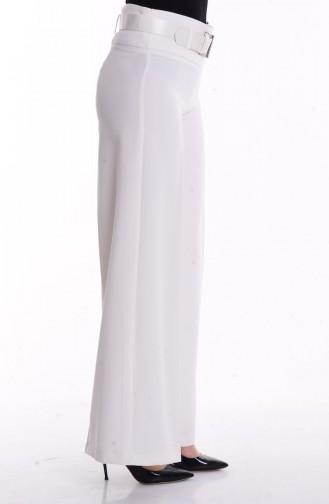 Pantalon Hijab 3069-06 Blanc 3069-06