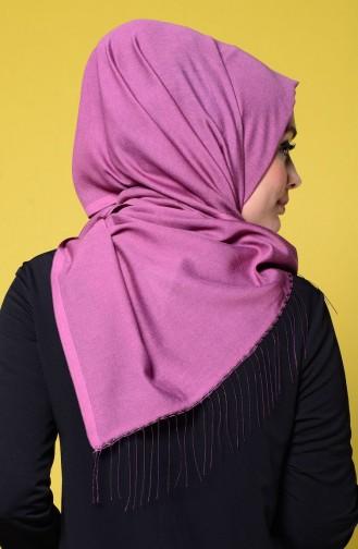 Purple Sjaal met Drukknoop 1-26