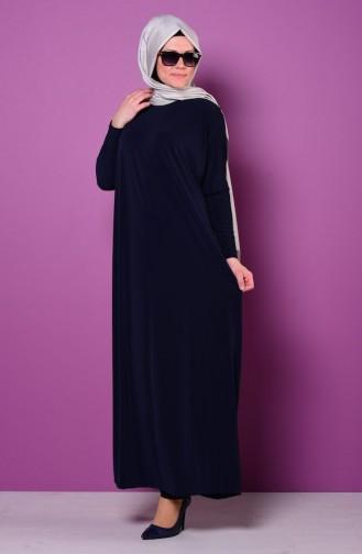 Abaya 1780-03 Bleu Marine 1780-03